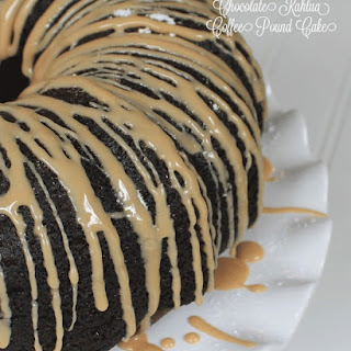 Chocolate Kahlua Coffee Pound Cake