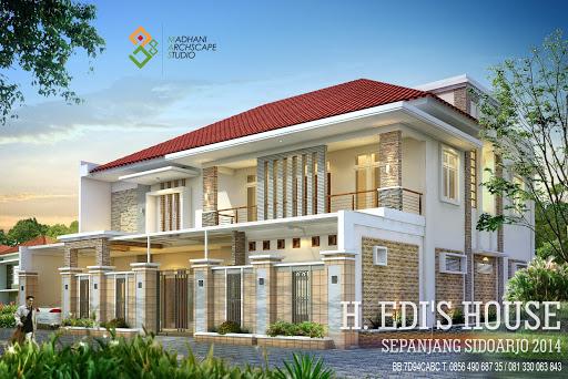 Desain Bangun Rumah 3D
