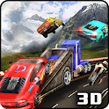 Highway Smashing Road Truck 3D icon
