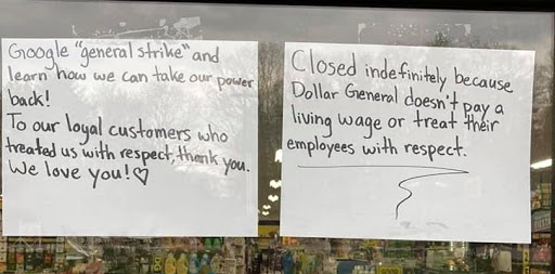 Workers at one Maine Dollar General quit with a splash, 'speak truth to power'