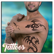 Tattoo My Photo With My Name by 3 Steps Developer icon
