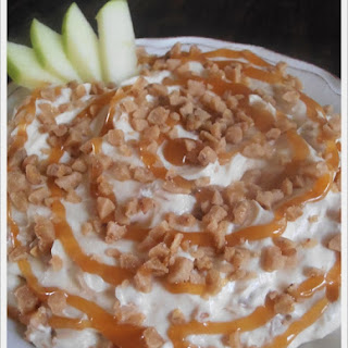 Caramel and Toffee Apple Dip.