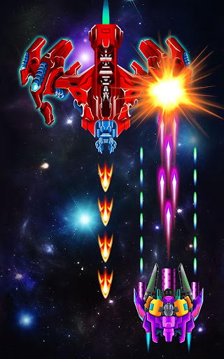 Screenshot for Galaxy Attack: Alien Shooter in United States Play Store