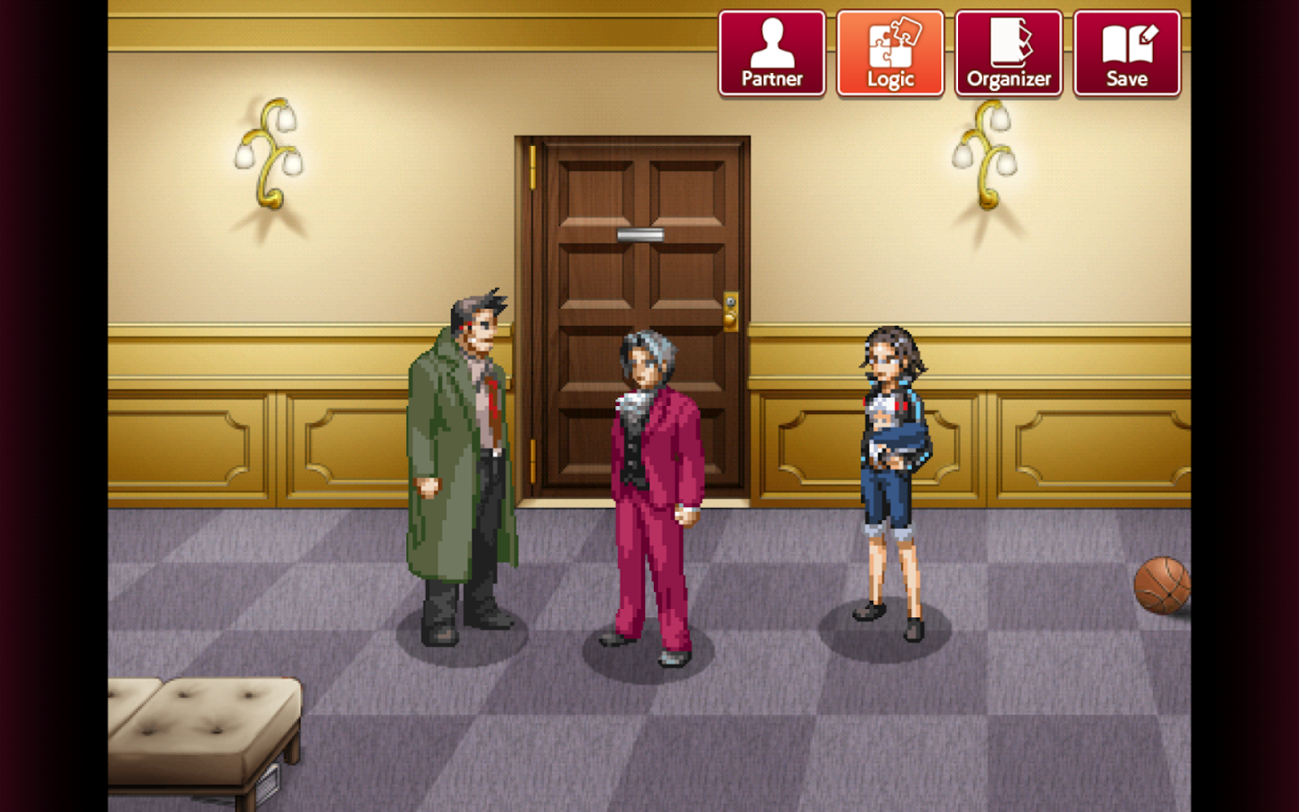 Ace Attorney Investigations - Miles Edgeworth- screenshot