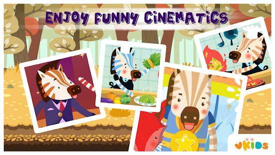 Kids ABC Animal Game - Zebra- screenshot thumbnail