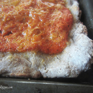 Gluten Free Soaked Pizza Crust