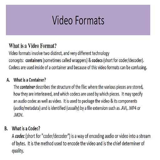 Advance Video Editing