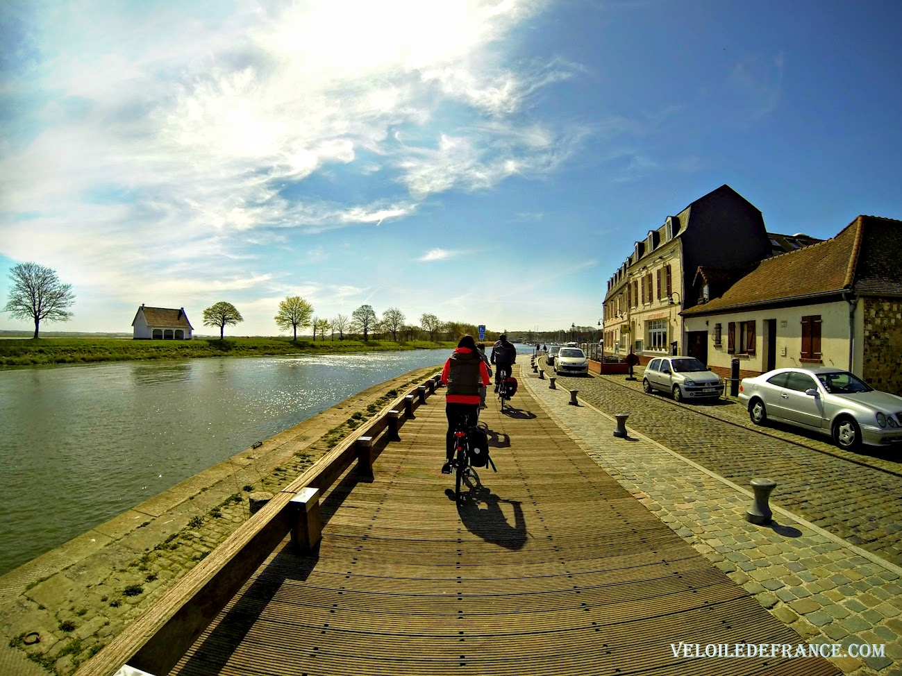 A vélo à St-Valery sur Somme - Blog La Baie de Somme à vélo depuis Paris par veloiledefrance.com