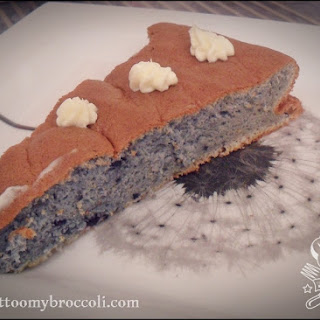 Ultra-fluffy Blueberry Sponge Cake