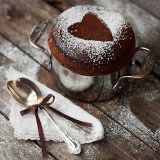 Thomas Keller's Chocolate Souffle.