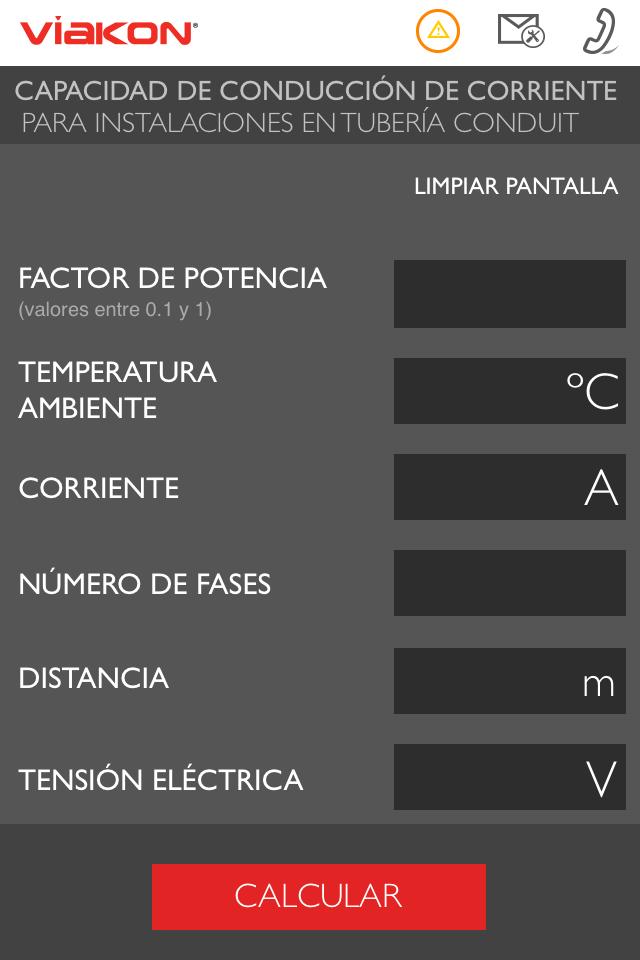 Скриншот Capacidad de Conducción Viakon