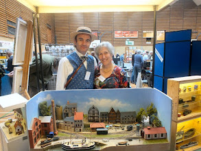 Photo: 119 Lucien Laceur (Sixtifs to his friends on NGRM-Online) comes over from France regularly to attend ExpoNG so it was doubly pleasant to welcome him again, this time with his wife, Edwina, also a skilled modeller, and their little HOe layout Craquetôt .