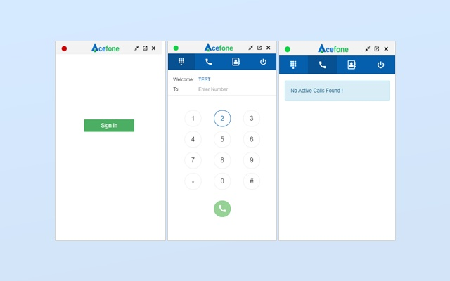 Acefone Extension for Zendesk.