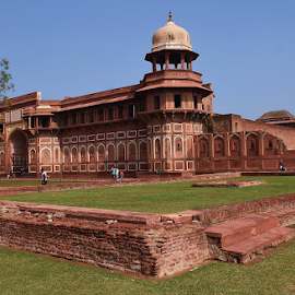 Jahangir Palace, Agra Fort, India by Gautam Tarafder - Buildings & Architecture Public & Historical