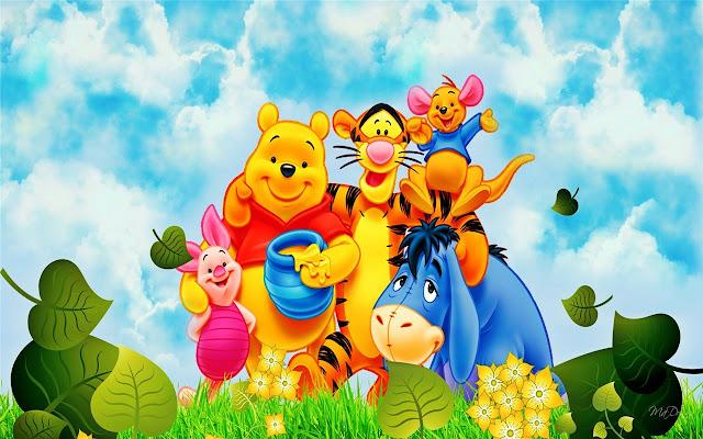 Winnie the Pooh Themes & New Tab