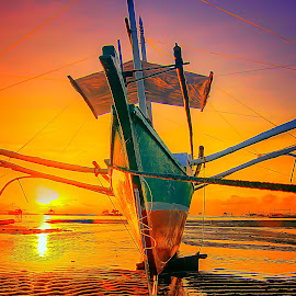 palawan by Catalino Adolfo   Jr. - Transportation Boats ( boats, transportation )