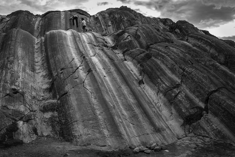 Sacsayhuamán, antico scivolo di christian_taliani