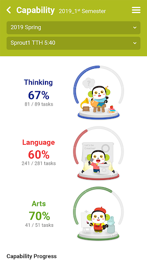 April Learning Portal screenshot 3