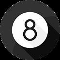 Boule 8 magique 3D icon