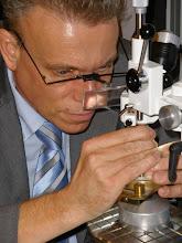 Photo: Thomas demonstrating Precision Milling