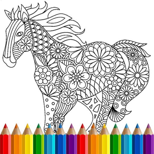 Coloring Book: Animal Mandala (game)