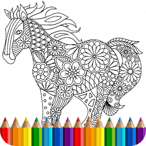 coloring book animal mandala - Coloring Book Animals