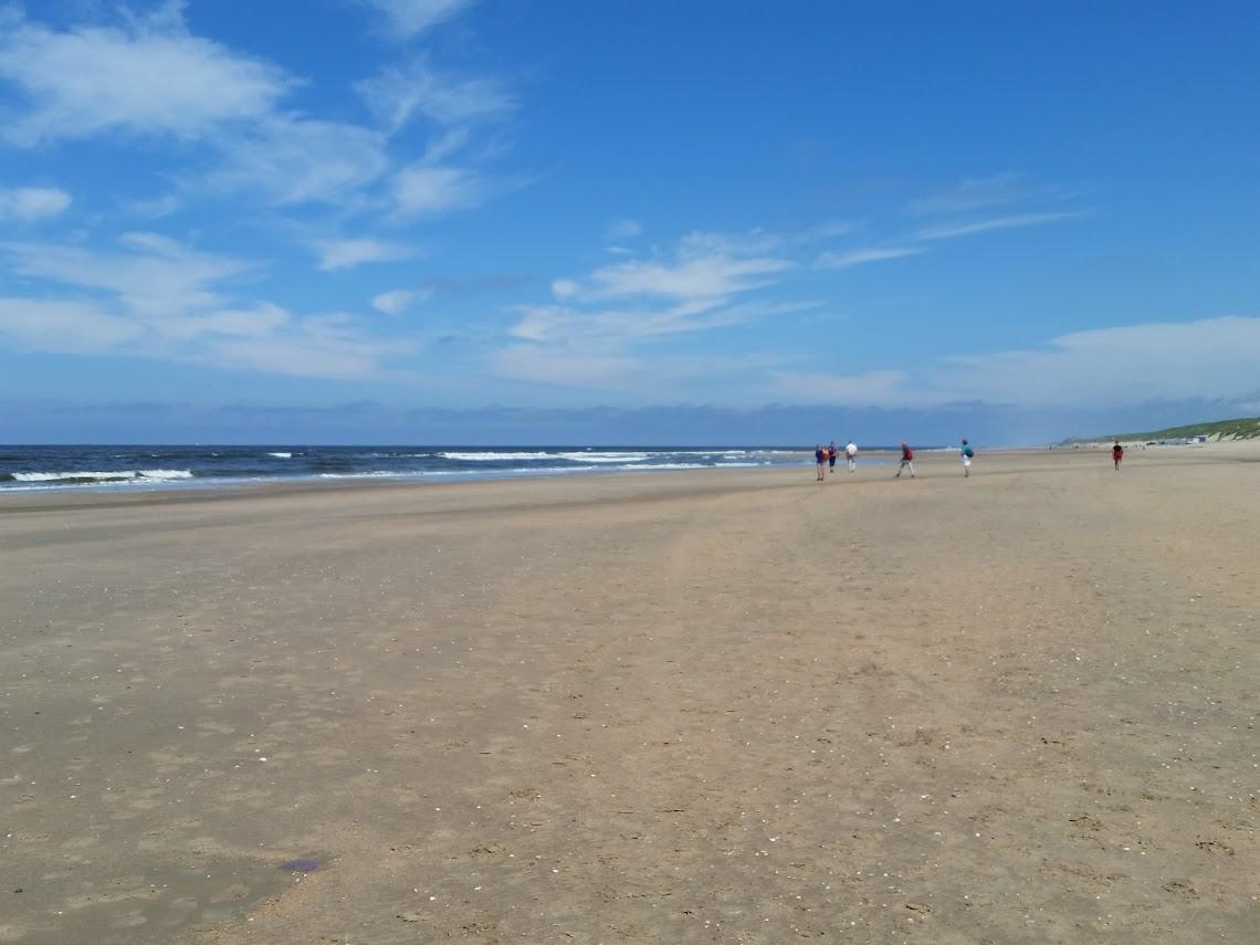 Op het strand tussen Castricum aan Zee en Egmond