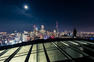 Photo: Midnight Coward I can see what's coming But I'm not saying it  Taken on a fun night of shooting with some of my favourite photographers: +Brian Day, +Tom Ryaboi, +Ronnie Yip, and +Ryan Emond.  ISO: 200 Shutter: 20 seconds Aperture: F/11 Camera: Canon 5d Mk II Lens: Canon 17-40mm L  #rooftopping #toronto #selfportrait #cntower #skyline #urbex #urbanexploration
