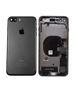 iPhone 8 Plus Housing with small parts Original Pulled Black