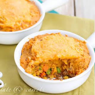 Sweet Potato Shepard's Pie.