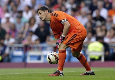 Casillas s'en sort bien sur ce coup-là...