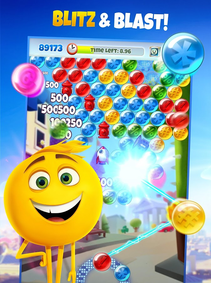 POP FRENZY! The Emoji Movie Game- screenshot