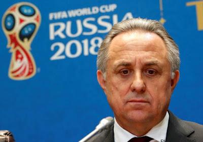 Le président du comité d'organisation de la Coupe du Monde 2018 démissionne