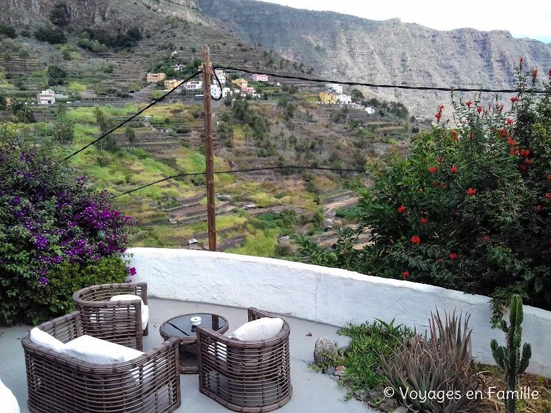 Terrasse Casa Alpaca