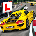 Driving School Test Car Racing icon