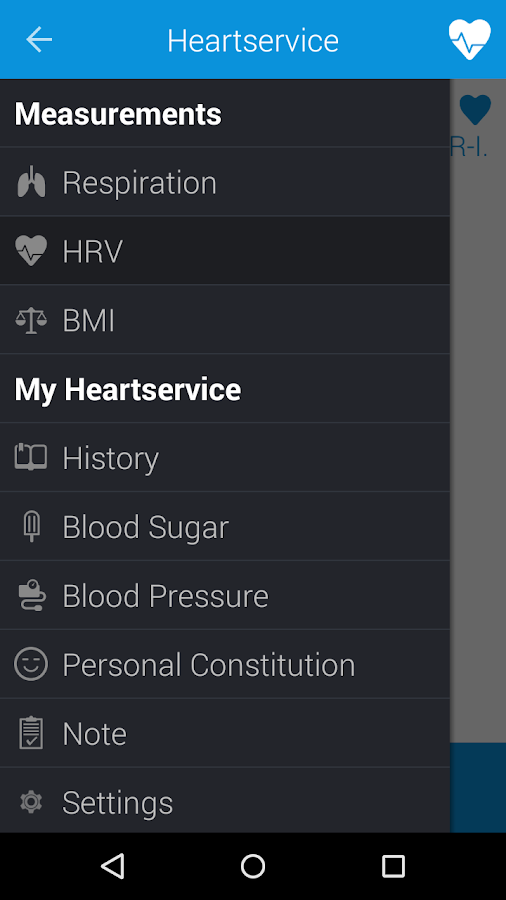 Heartservice - screenshot