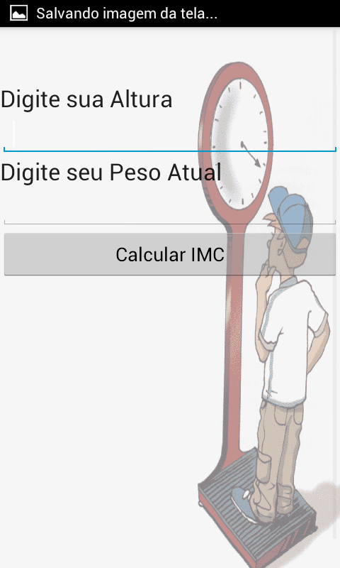 Seu Peso IDEAL IMC- screenshot