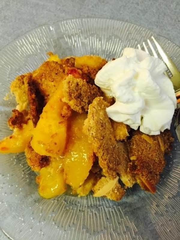Peach Harvest Crumble