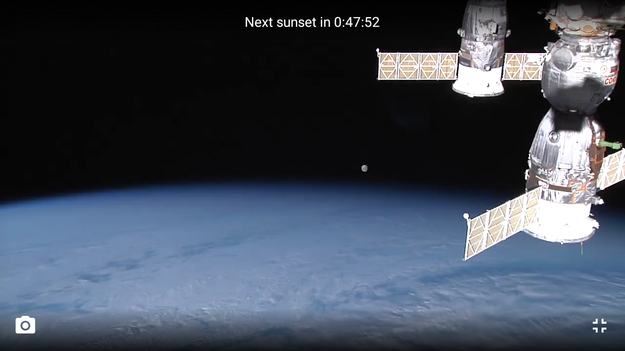 ISS HD Live View Earth Live Android Apps On Google Play - Real life satellite view