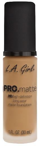 Bases La Girl Pro Matte 675 Medium Beige