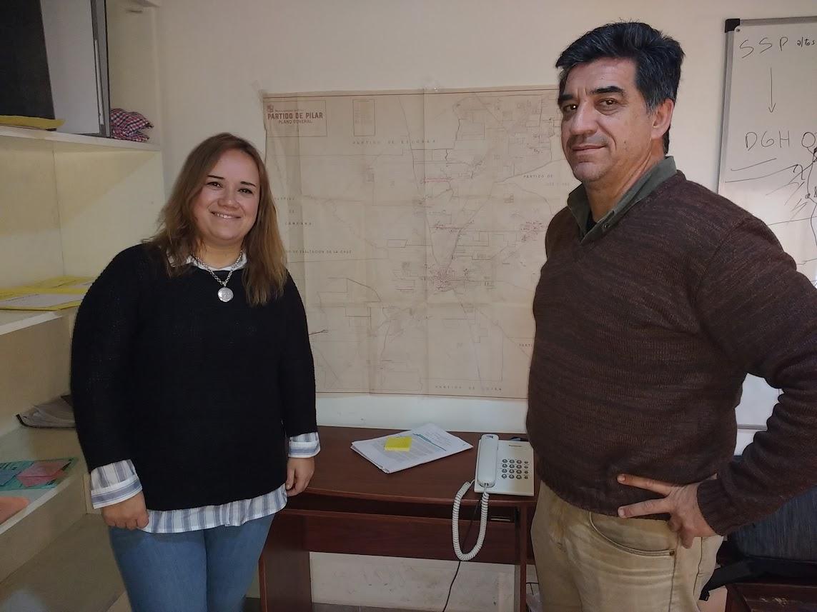 Natalia Ruiz se defendió de las acusaciones con su jefe en Pilar