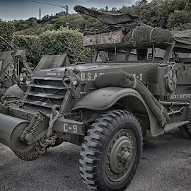 WW2 US Vehicle by Marco Bertamé - Transportation Automobiles ( reenactment, ww2, american, military, us, vehicle )