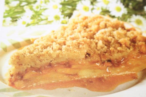 Apple Butterscotch Tart Recipe