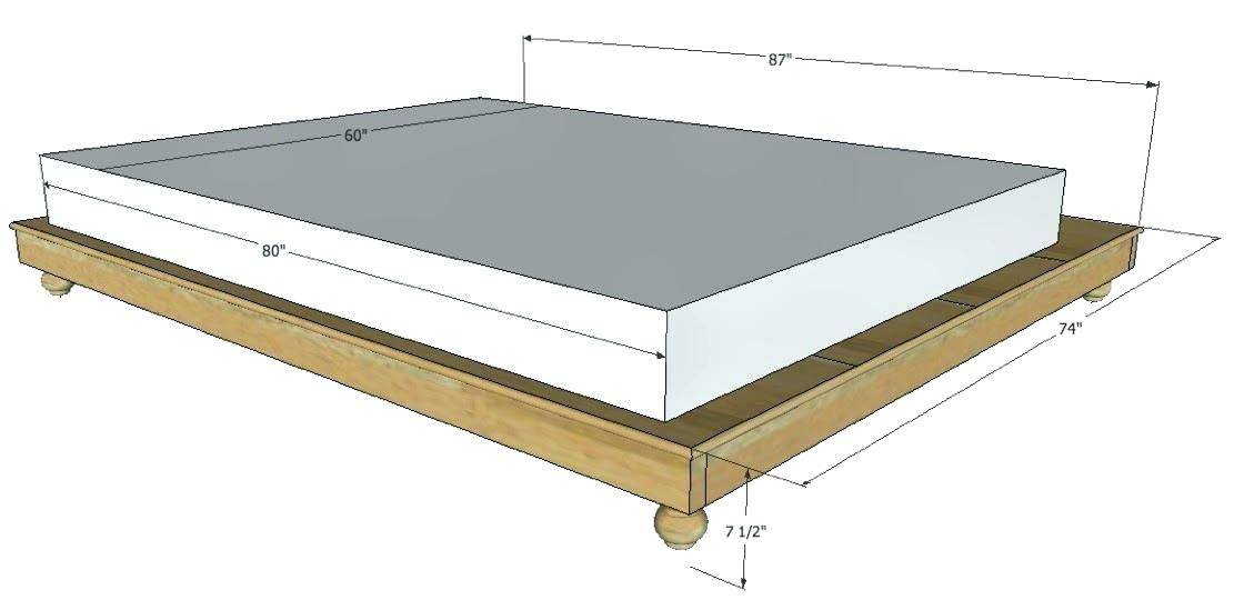 How Tall Is A Box Spring 5 Tips To, Queen Bed Frame 10 Inches High