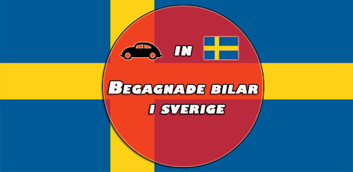 Buying and selling used cars in Sweden via this app.