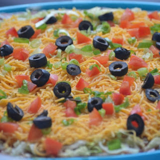 Baked Mexican Dip.