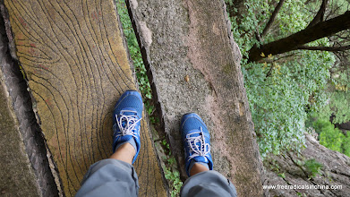 Photo: Don't look down!
