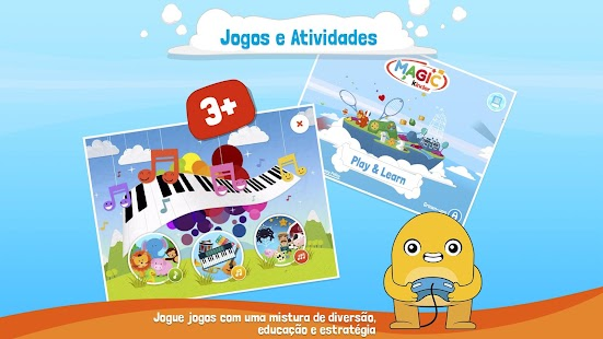 Magic Kinder App Oficial - Jogos Educativos: miniatura da captura de tela