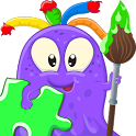 Coloring Pages and Puzzles Kid icon