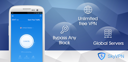 SkyVPN-Best Free VPN Proxy for Secure WiFi Hotspot for PC